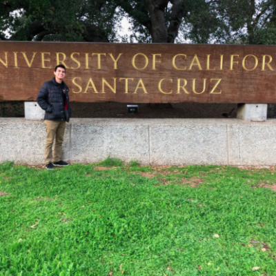 DTS Students on the Job – Mario, College 2020 Class