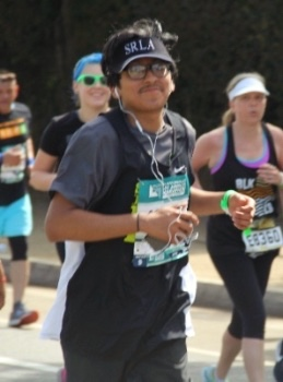 Daniel and Juan Run the Los Angeles Marathon