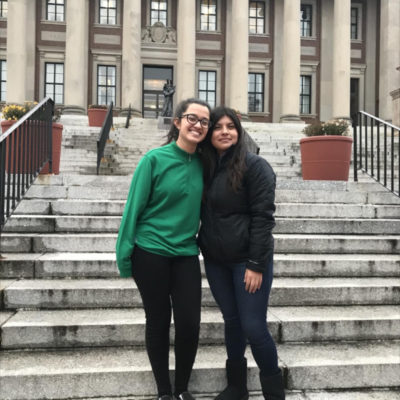 College Connection: Melissa and Brittany